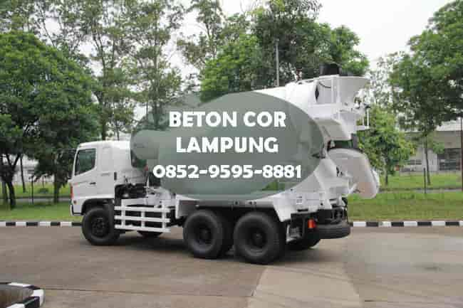 harga ready mix beton cor lampung